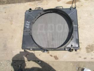 Радиатор охлаждения двигателя. Mitsubishi Pajero, V63W, V65W, V73W, V75W Mitsubishi Montero, V63W, V65W, V73W, V75W Двигатели: 6G72, 6G74
