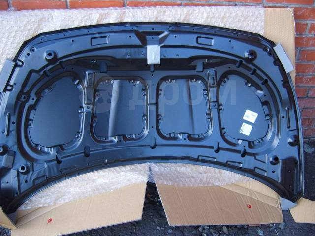 Капот. Hyundai Accent Hyundai Solaris, RB Двигатели: G4FA, G4FC