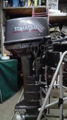 Tohatsu. 9,80л.с., 2-тактный, бензиновый, нога L (508 мм), 2001 год год