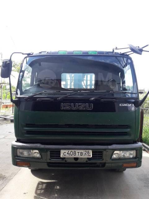 Isuzu Giga. Isuzu giga грузовик с краном 2002г 4WD, 19 000куб. см., 12 000кг.