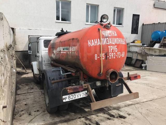 ГАЗ. Продам ассинизаторскую машину на базе ., 4 750куб. см.
