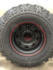"""Комплект внедорожных колёс. 8.0x15"""" 5x139.70 ET-25 ЦО 110,1мм."""