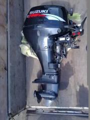 Suzuki. 15,00л.с., 4-тактный, бензиновый, нога S (381 мм), 2009 год год