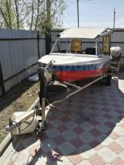 Крым-М. 1981 год год, длина 4,20м., двигатель подвесной, 30,00л.с., бензин
