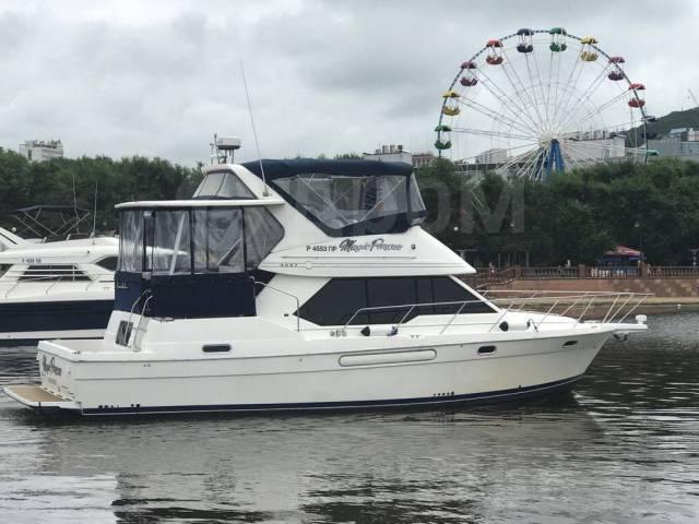 Аренда катера 45 футов в центре Владивостока. 12 человек, 35км/ч