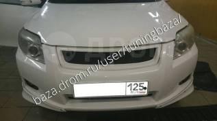 Решетка радиатора. Toyota Corolla Axio Toyota Corolla Fielder, NZE141G, NZE144G, ZRE142G, ZRE144G Двигатели: 1NZFE, 2ZRFE