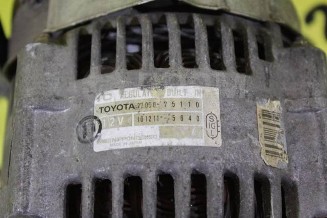 Генератор. Toyota: Grand Hiace, Regius Ace, Land Cruiser, Tacoma, Granvia, Touring Hiace, Hilux Surf, Hiace, Land Cruiser Prado, 4Runner, Regius, Coas...