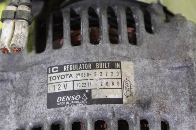 Генератор. Toyota Grand Hiace, VCH10, VCH10W, VCH16, VCH16W, VCH22, VCH28 Toyota Granvia, VCH10, VCH10W, VCH16, VCH16W, VCH22, VCH28 Двигатель 5VZFE