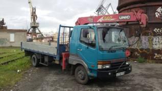 Услуги бортового грузовика с манипулятором 2т. Борт 5т.