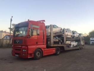 Перевозка автовозами автомобилей и спецтехники в Москву и Краснодар.