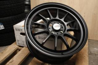 "Новые JDM 17x7 4x100 ET42 Semi Black VITZ FIT Swift MINI Cooper. 7.0x17"", 4x100.00, ET42, ЦО 73,1 мм."