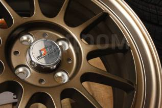 "Новые JDM 17x7 4x100 ET42 Bronze VITZ FIT Swift MINI Cooper. 7.0x17"", 4x100.00, ET42, ЦО 73,1 мм."