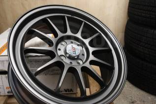 "Новые JDM 17x7 4x100 ET42 GM VITZ FIT Swift MINI Cooper. 7.0x17"", 4x100.00, ET42, ЦО 73,1 мм."
