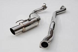 Выхлопная система. Nissan Silvia, S14. Под заказ