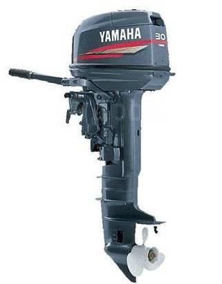 Yamaha. 30,00л.с., 2-тактный, бензиновый, нога S (381 мм), 2017 год год
