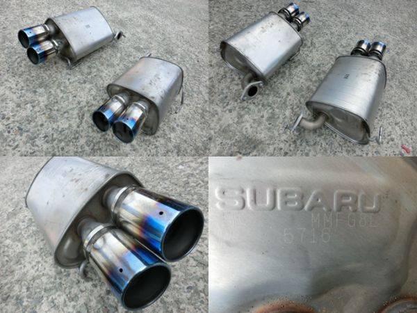Глушитель. Subaru Forester, SJ, SJ5, SJ9, SJG Subaru Impreza WRX STI, VAB