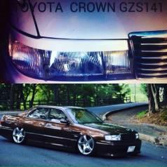 Накладка на фару. Toyota Crown, GRS180, GRS181, GRS182, GRS183, GRS184, GRS188, GS141, GS171, GS171W, JKS175, JZS141, JZS143, JZS145, JZS147, JZS149...