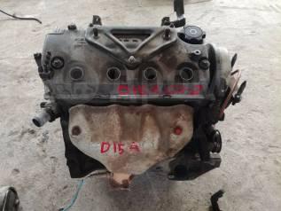 Двигатель в сборе. Honda HR-V, GH3, GH4, GH1, GH2 Honda Civic, EJ7 Honda Civic Ferio, EK5, EK8 Honda Domani, MB4, MB5 Двигатели: D16A, D16AVTEC