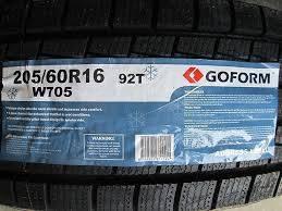 Goform W705. Зимние, без шипов, без износа, 4 шт. Под заказ