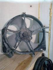 Вентилятор охлаждения радиатора. Honda Jazz Honda Fit, GD1, GD2, GD3, GD4 Двигатели: L12A1, L13A1, L13A2, L13A5, L15A1