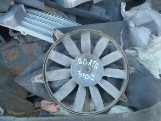 Вентилятор охлаждения радиатора. ГАЗ 3110 Волга ГАЗ Волга, 3110 Двигатель 406