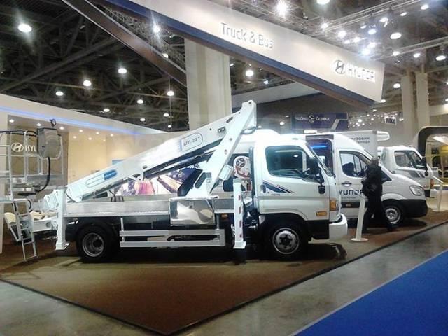 Hyundai HD78. Новый Автогидроподъёмник на шасси Hyundai HD -78, 3 933куб. см., 22,00м.