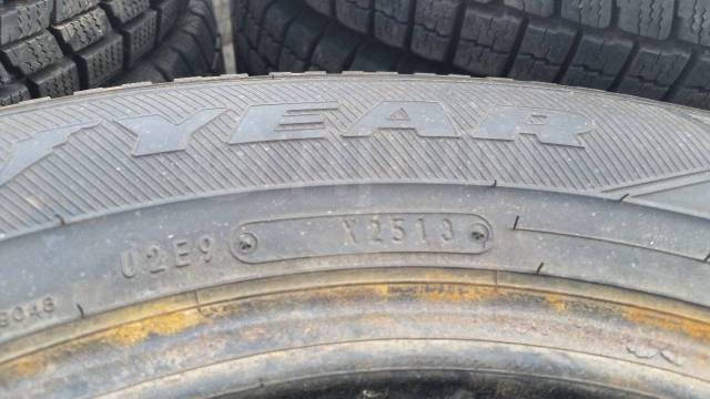 Goodyear Ice Navi 6. Зимние, без шипов, 2013 год, 5 %, 2 шт