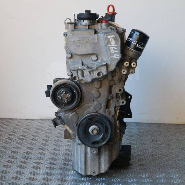 Двигатель в сборе. Volkswagen Passat, 362, 365, 3C2, 3C5 Volkswagen Touran, 1T2, 1T3 Двигатели: AXX, AXZ, BKC, BKP, BLF, BLP, BLR, BLS, BLV, BLX, BLY...