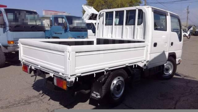 Isuzu Elf. 4WD, двухкабинник + борт 2 тонны, 3 000куб. см., 2 000кг., 4x4