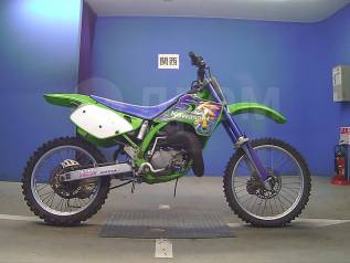 Kawasaki KX 125. 125куб. см., исправен, птс, без пробега
