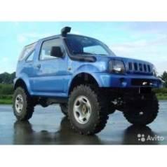 Шноркель. Suzuki Jimny, JB33 Двигатели: G13B, G13BB