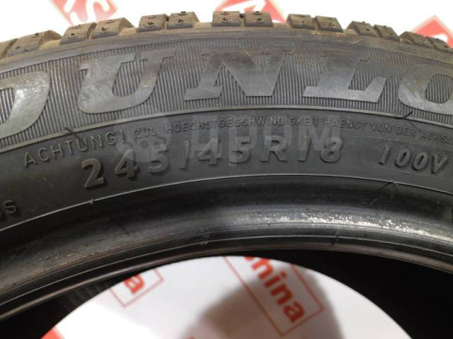 Dunlop SP Winter Sport 3D. Зимние, 20%, 1 шт