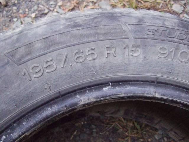 Michelin Maxi Ice. Зимние, без шипов, 2007 год, 60%, 4 шт