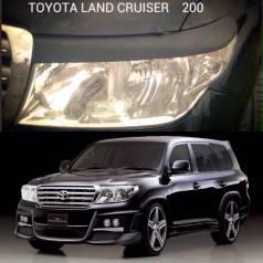 Накладка на фару. Toyota Land Cruiser, FZJ100, FZJ105, GRJ200, HDJ100, HDJ100L, HDJ101, HDJ101K, HZJ105, HZJ105L, J100, URJ200, UZJ100, UZJ100L, UZJ10...