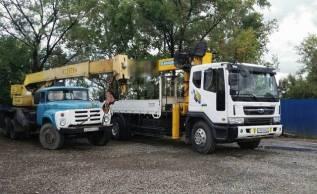 Услуги грузовика 10т. кран 7 т, борт 9м; кран 12 т