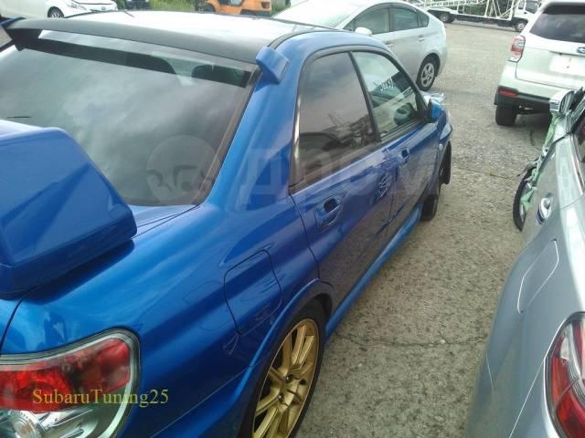 Спойлер на заднее стекло. Subaru Impreza WRX STI, GD, GDB