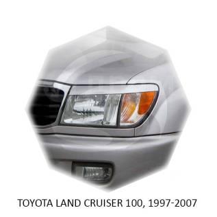 Накладка на фару. Toyota Land Cruiser, FZJ100, FZJ105, HDJ100, HDJ100L, HDJ101K, HZJ105, HZJ105L, HZJ71, HZJ71V, HZJ74, HZJ74K, HZJ74V, HZJ76, HZJ76K...
