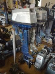 Tohatsu. 8,00л.с., 2-тактный, бензиновый, нога L (508 мм), 2001 год год