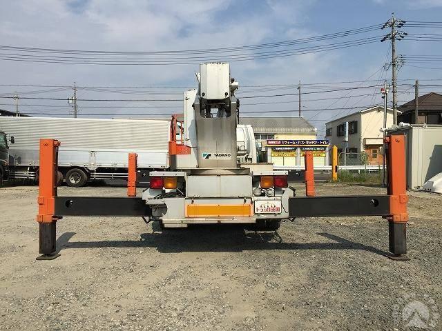 Isuzu NRR. Isuzu Forward Juston автовышка коленчатая Tadano AT255, 8 200куб. см., 27м. Под заказ
