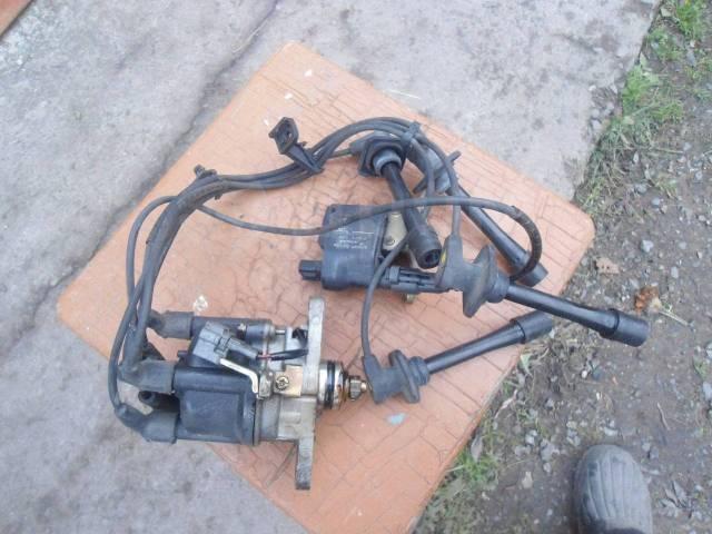 Катушка зажигания, трамблер. Daihatsu Pyzar Двигатель HEEG