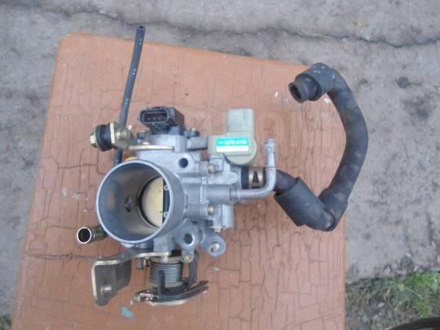 Заслонка дроссельная. Daihatsu Pyzar, G301G, G303G Daihatsu Gran Move Двигатель HEEG
