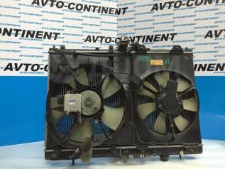 Радиатор охлаждения двигателя. Mitsubishi RVR Двигатель 4G63T