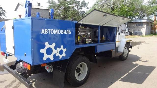 """ГАЗ-33086 Земляк. Автомобиль специальный для ТО на шасси ГАЗ-33086 """"Земляк"""", 4 430куб. см., 4 250кг."""
