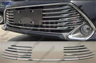 Накладка на решетку бампера. Toyota Camry, ACV51, ASV50, ASV51, AVV50, GSV50