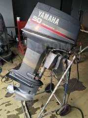 Yamaha. 50,00л.с., 2-тактный, бензиновый, нога L (508 мм), 1996 год год