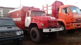 ЗИЛ 131. Пожарная машина, 3 000куб. см., 6 000кг., 6x6