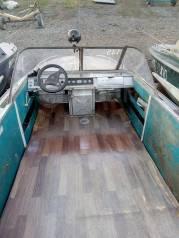 Амур-Д. 1988 год год, длина 5,50м., двигатель стационарный, 1,80л.с., бензин