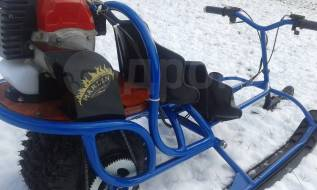 snow scooter MARLIN, 2017. исправен, без птс, без пробега