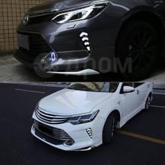 Обвес кузова аэродинамический. Toyota Camry, ACV51, ASV50, ASV51, AVV50, GSV50 Двигатели: 1AZFE, 2ARFE, 2ARFXE, 2GRFE, 4ARFXE, 5ARFE, 6ARFSE