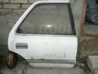 Дверь боковая. Toyota Cresta, LX80 Двигатели: 2LT, 2LTE